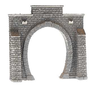 Noch 34851 - Tunnel Portal, Single Track, 7.9 x 7.6 cm