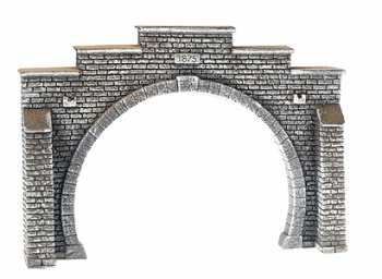 Noch 34852 - Tunnel Portal, Double Track, 12.3 x 8.5 cm