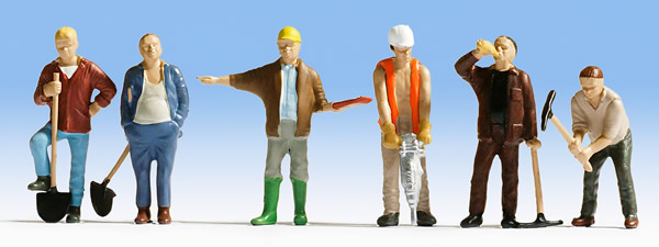 Noch 36110 - Construction workers