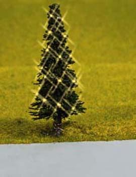 Noch 43811 - Green Christmas Tree, illluminated