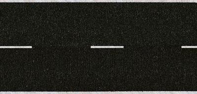 Noch 44150 - Asphalt Road, black, 100 x 2,5 cm