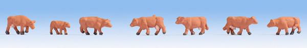 Noch 44252 - Cows, brown