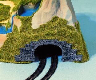 Noch 44430 - Tunnel Portal, Double Track, 2 pcs.,