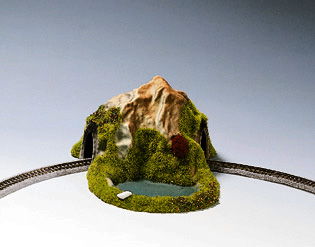 Noch 44670 - Curved Tunnel, Single Track,