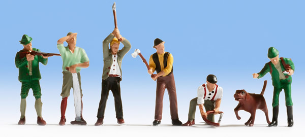 Noch 45060 - Hunters and Lumberjacks