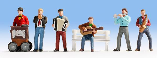 Noch 45563 - Street Musicians