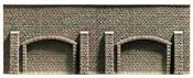 Noch 48058 - Arcade Wall, 25,8 x 9,8 cm