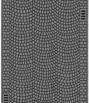 Noch 48592 - Cobbled Pavement, 100 x 4 cm
