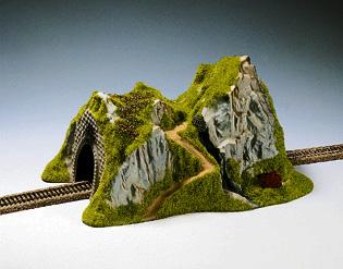 Noch 48670 - Straight Tunnel, Single Track,