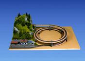 Noch 53005 - LAGGIES Standard Helix, track radius 420/483 mm,