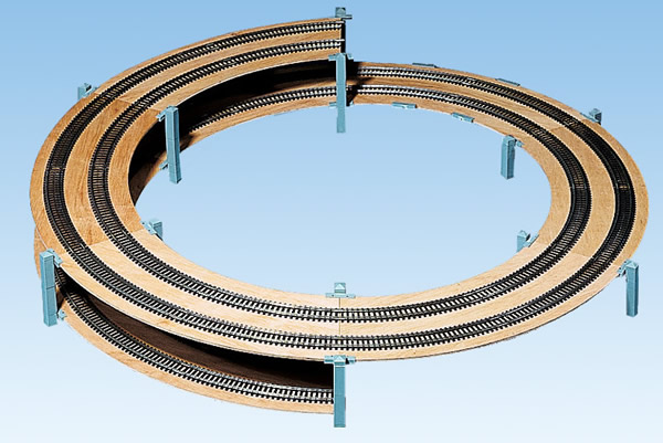 Noch 53008 - LAGGIES Standard Helix, track radius 554/619 mm,