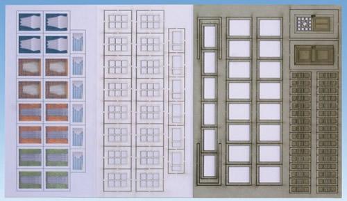 Noch 56420 - Windows & Doors Resident.House Laser Cut