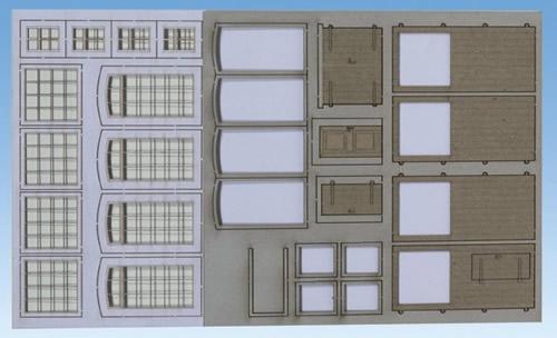 Noch 56422 - Windows & Doors Industry Laser Cut