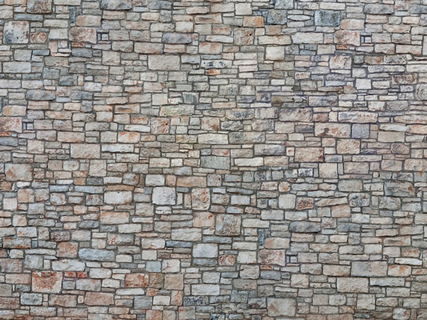 "Noch 56640 - 3D Cardboard Sheet ""Quarrystone Wall"""