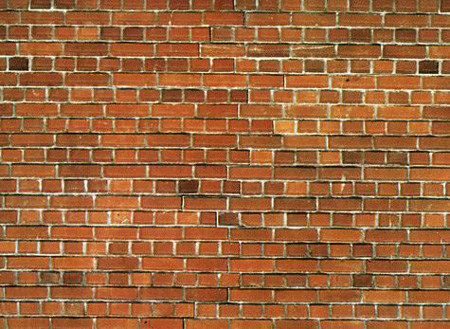 Noch 57730 - Carton Wall Red Brick