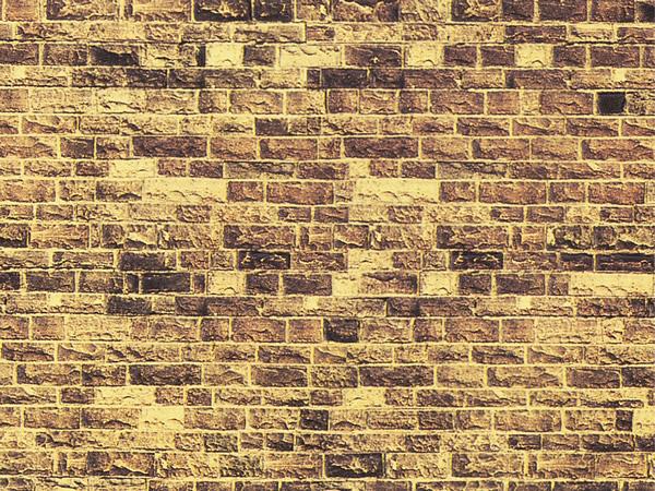 Noch 57750 - Carton Wall Yellow Sandstone