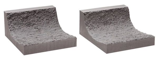 Noch 58033 - Interior Rock Tunnel Wall, curved