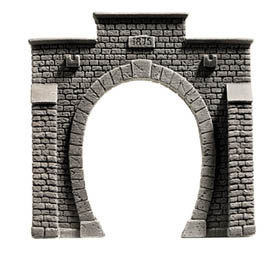 Noch 58051 - Tunnel Portal, single track, 13,5 x 12,5 cm