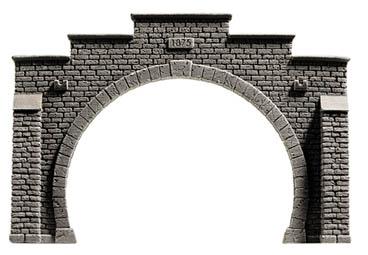 Noch 58052 - Tunnel Portal, double track, 21 x 14 cm