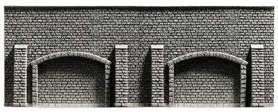 Noch 58058 - Arcade Wall, 33,4 x 12,5 cm