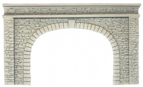 Noch 58062 - Tunnel Portal, double track, 22 x 13 cm