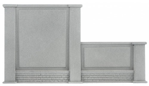 Noch 58087 - Wall, graduated on the right, 20,5 x 12,5 cm