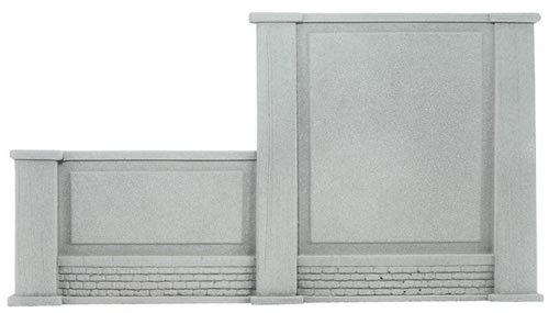 Noch 58088 - Wall, graduated on the left, 20,5 x 12,5 cm