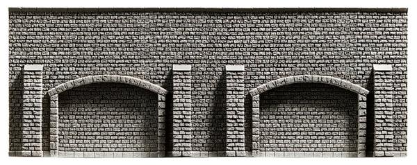 Noch 58125 - Stone Arcade Wall, extra long, 65 x 11,5 cm