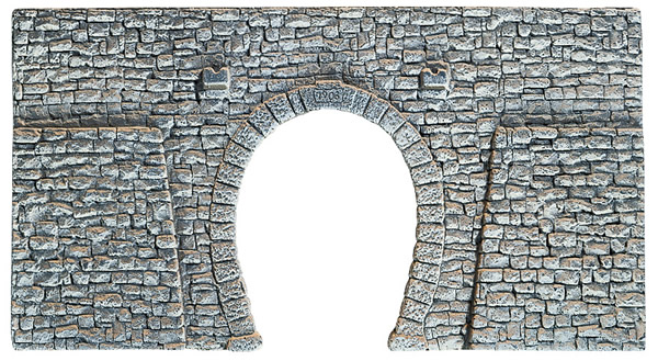 Noch 58247 - Quarrystone Portal, single track, 23,5 x 13 cm