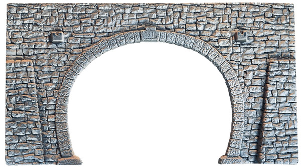 Noch 58248 - Quarrystone Portal, double track, 23,5 x 13 cm