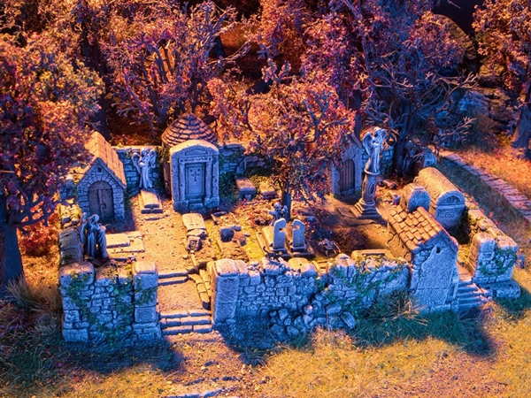 Noch 58585 - Creepy Graveyard