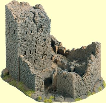 Noch 58600 - Castle Ruin, 18 x 14 cm, 12 cm high