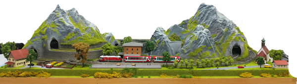 Noch 598601 - Noch Custom Finished Alpine Layout