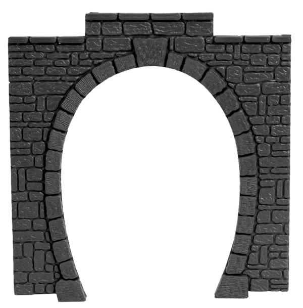 Noch 60010 - Tunnel Portal plastic, single track, 11 x 11 cm