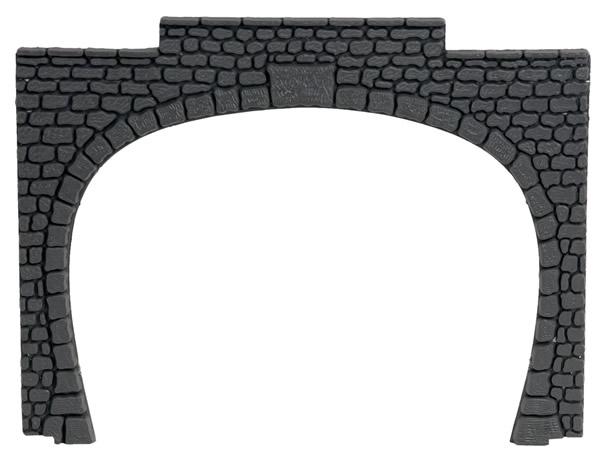 Noch 60020 - Tunnel Portal plastic, double track,