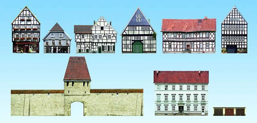 Noch 60306 - Old-town houses