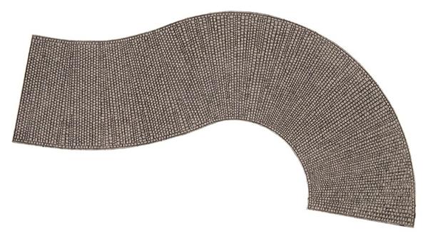 "Noch 60316 - Structured Curve ""Cobblestone"""