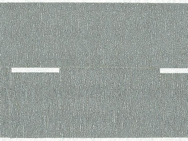 Noch 60470 - Federal Road, grey, 100 x 5,8 cm