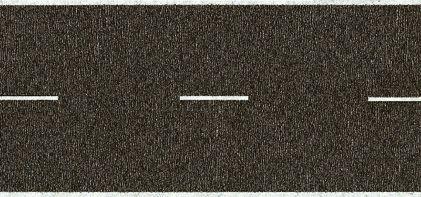 Noch 60610 - Country Road, grey, 200 x 4,8 cm
