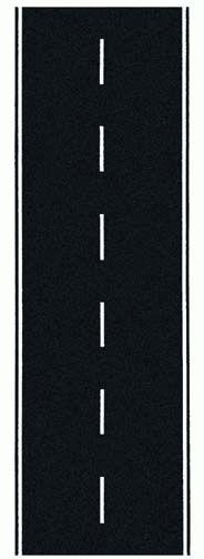 Noch 60700 - Federal Road, Asphalt, 100 x 8 cm