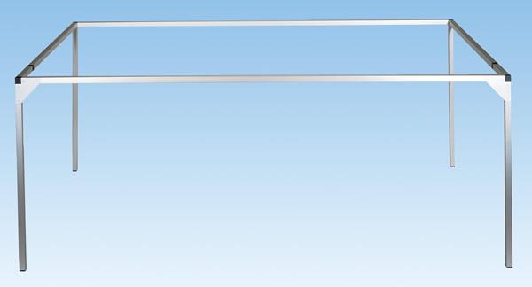 Noch 62200 - Aluminium Frame, 200 x 100 + 20 cm