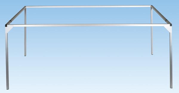 Noch 62425 - Aluminium Frame, 125 x 69 + 31 cm