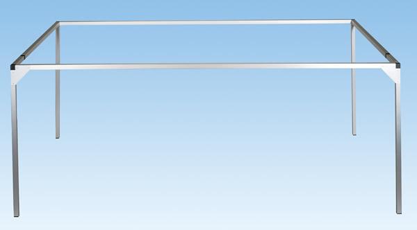 Noch 62460 - Aluminium Frame, 160 x 69 + 31 cm