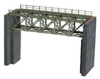 Noch 62810 - Steel Bridge w/ Bridge Heads