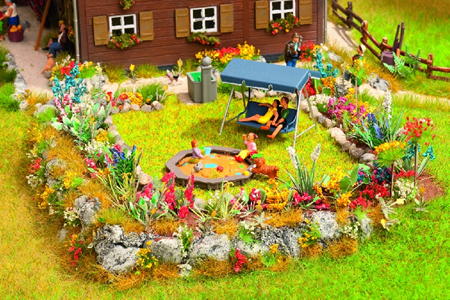 Noch 65604 - Flower garden