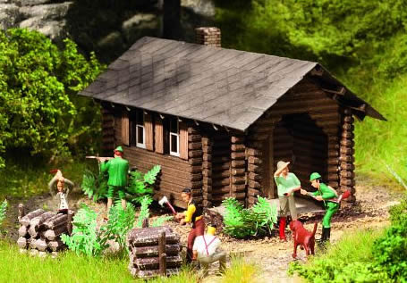 Noch 65606 - Scenery Set Forest Lodge