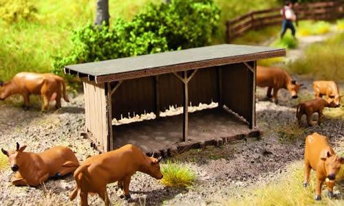 Noch 65607 - Scenery Set Animal Shelter