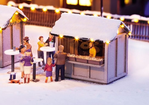 Noch 65610 - Combined Set At the Christmas Market