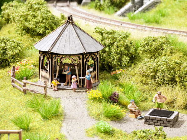 Noch 65612 - Scenery Set Barbecue Hut