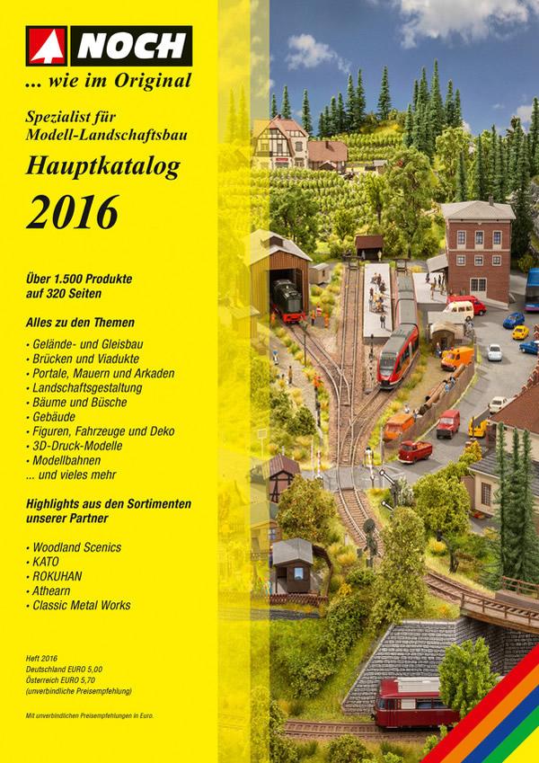 Noch 71161 - NOCH Catalogue 2016 w/o prices